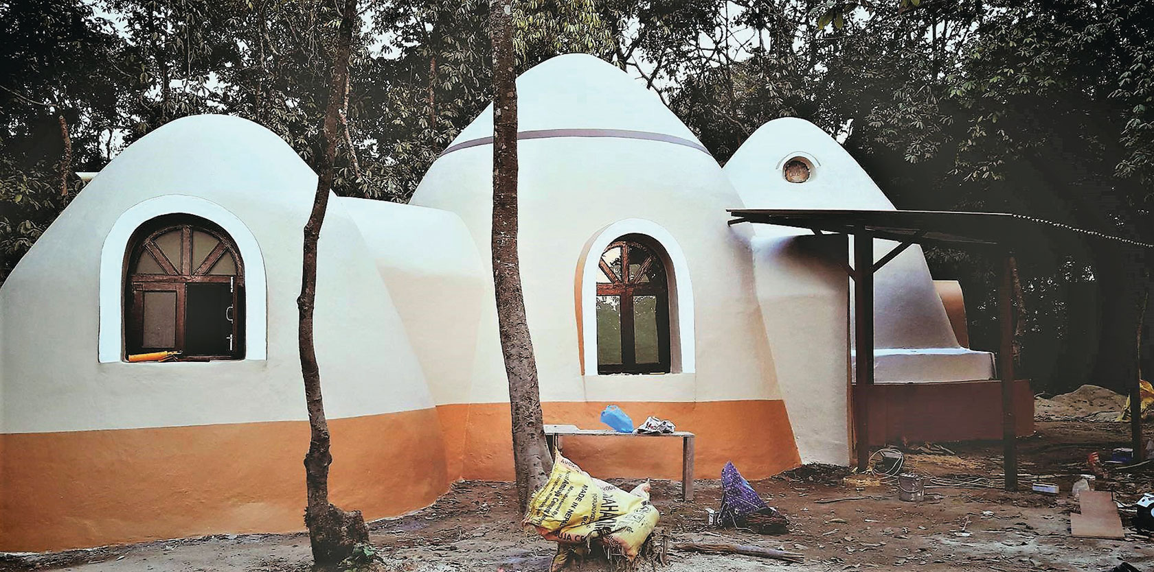 "A unique ""dome home"" is among the Earthbag building projects LaSota has overseen."